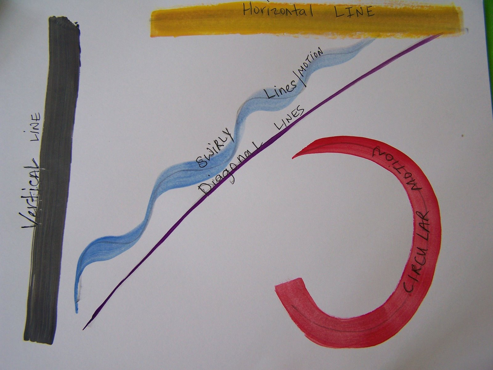 Diagonal Line Definition In Art : Art lesson theonething